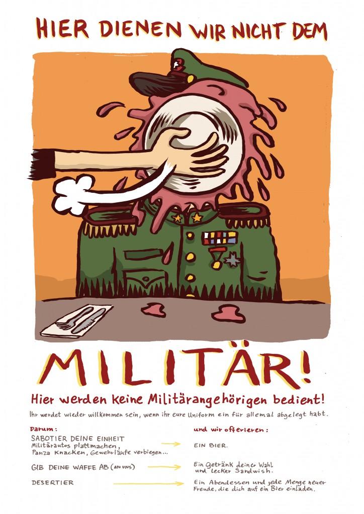 Militaer Plakat Conex 2015